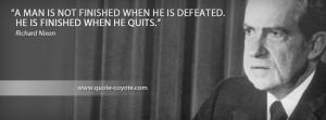 Richard Nixon Famous Quote