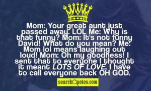 Aunt Quotes