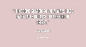 Quotes About Being Scared