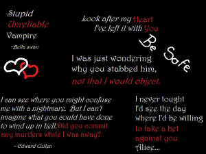 Twilight Quotes And Sayings Wallpapers Twilight quotes by awoken-myth