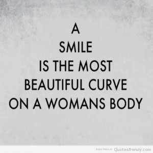 Sweet Smile Quotes Woman smile quotes; sweet