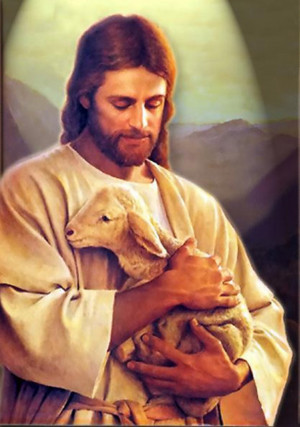 Jesus Jesus and the Lamb