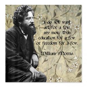William Morris quote