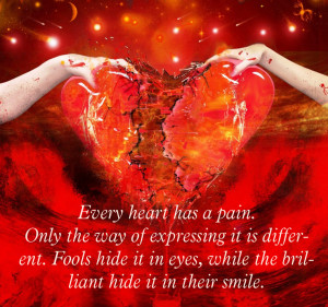heart and pain quote   Full heart and pain wall   heart pain quote ...