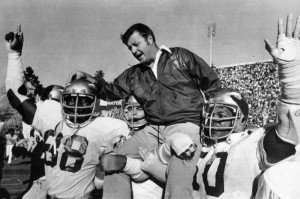 Associated PressFlorida State head coach Bobby Bowden is carried on ...