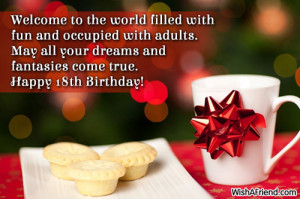 happy 18th birthday 18th birthday quotes for boys happy 18th birthday ...