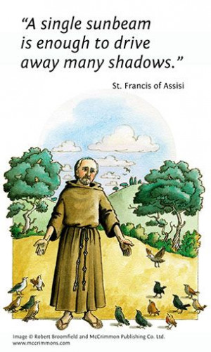 St Francis of Assisi, Patron Saint of Animals, and joint Patron Saint ...