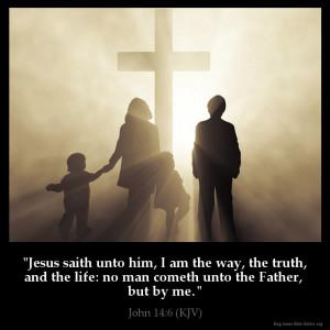 John 14:6 Inspirational Image