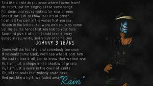 Johnny 3 Tears; Quote: