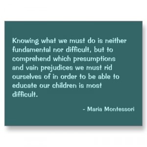 maria montessori quotes - Google Search