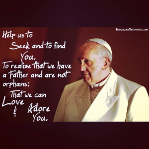Pinned by Franciscan Missionaries of the Eternal Word