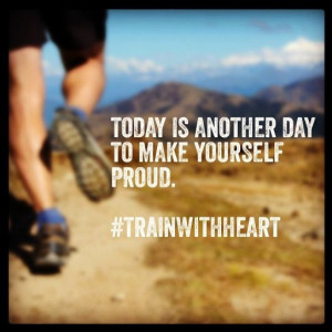 Today is another day to make yourself proud.  We love this quote! # ...