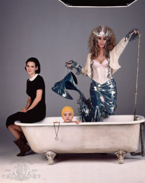 Still of Christina Ricci, Winona Ryder and Cher in Mermaids (1990)