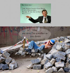 funny quotes about lazy workers