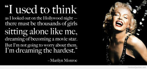 Marilyn Monroe – Amazing quotes