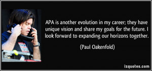 More Paul Oakenfold Quotes