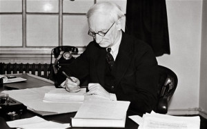 William Beveridge, whose 1942 report served as the basis of the ...