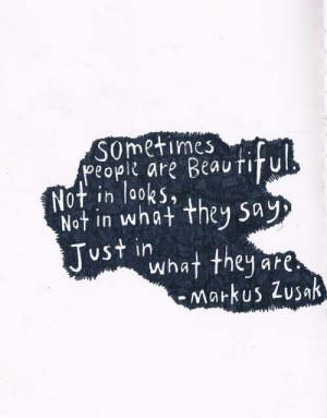Markus Zusak quotes