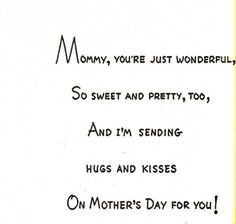 ... Mothers Day Cards Mothers Day Card Messages What To Write In A Mothers