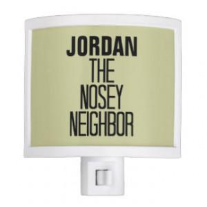 Nosey Neighbor Nite Lights