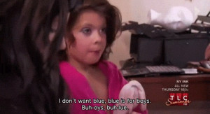 Toddlers and Tiaras Middle Finger