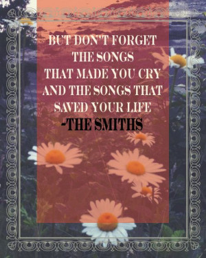 The Smiths Quotes The smiths song quotes
