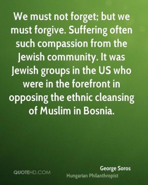 often such compassion from the Jewish community. It was Jewish ...