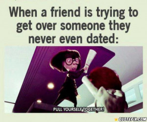 Getting Over Someone You Never Dated Quotes Download this quote