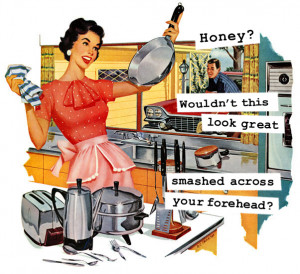 1950's Housewife Funny Memes: 13 Sarcastics