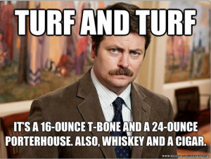 The Best Ron Swanson Food Quotes