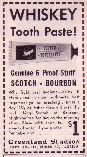 The Whiskey Toothpaste