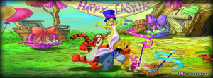 happy easter winnie the pooh