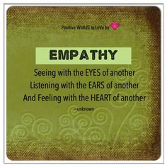 empathy more everyday quotes empathy lessons inspiration boards ...