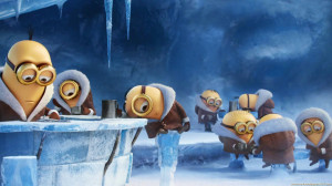 Download Minions In Ice Cold Winter HD Wallpaper. Search more high ...