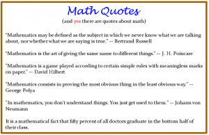 Funny Maths Quotes Math Quotes