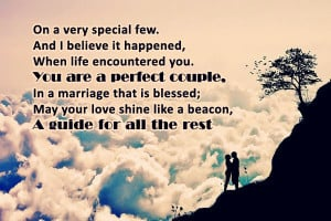 Perfect Couple Wedding Anniversary Wishes