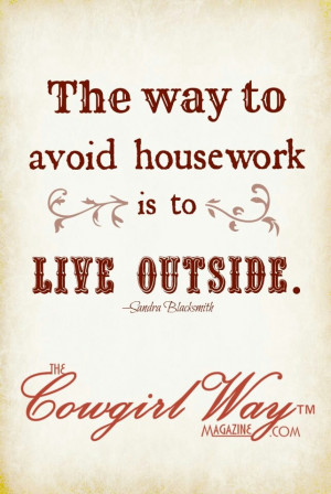 ... is to live outside by sandra blacksmith the cowgirl way magazine com