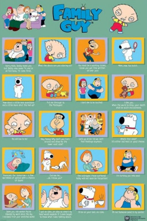 Family Guy - Cast Quotes Poster