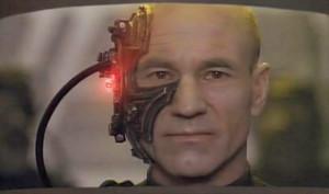 Star Trek - Sci Fi Blog.: Locutus of Borg