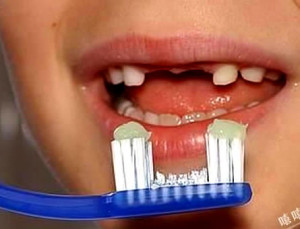 Funny clever idea of toothbrush