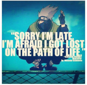Hahaha oh Kakashi. one of my favorite characters ever