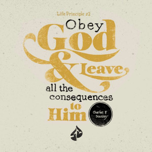 "Obey God and leave all the consequences to Him."" –Charles F ..."