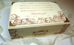 Wuthering Heights Jewelry Box