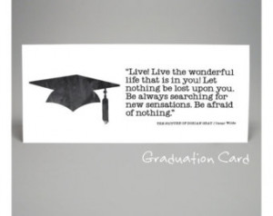 CARD, high school graduation, college graduation, congratulations ...