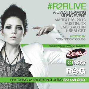 Skylar Grey DXCIV :: Rags 2 Riches Live – Live Stream | Flyer