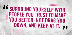 are you surrounded by supportive people do you support the people ...