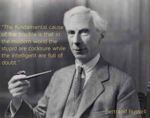 Bertrand Russell on the Trouble With the World