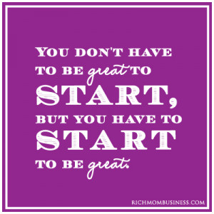 at-home-mom-businesses-inpirational-quote-start inspirational business ...