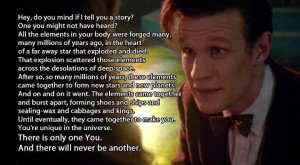 As this Doctor Who Motivational Quote states, there is only one you ...