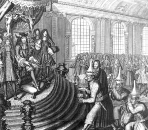 Siamese embassy of King Narai to Louis XIV in 1686, led by Kosa Pan ...